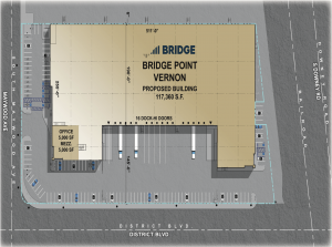 Bridge Point Vernon – Site Plan