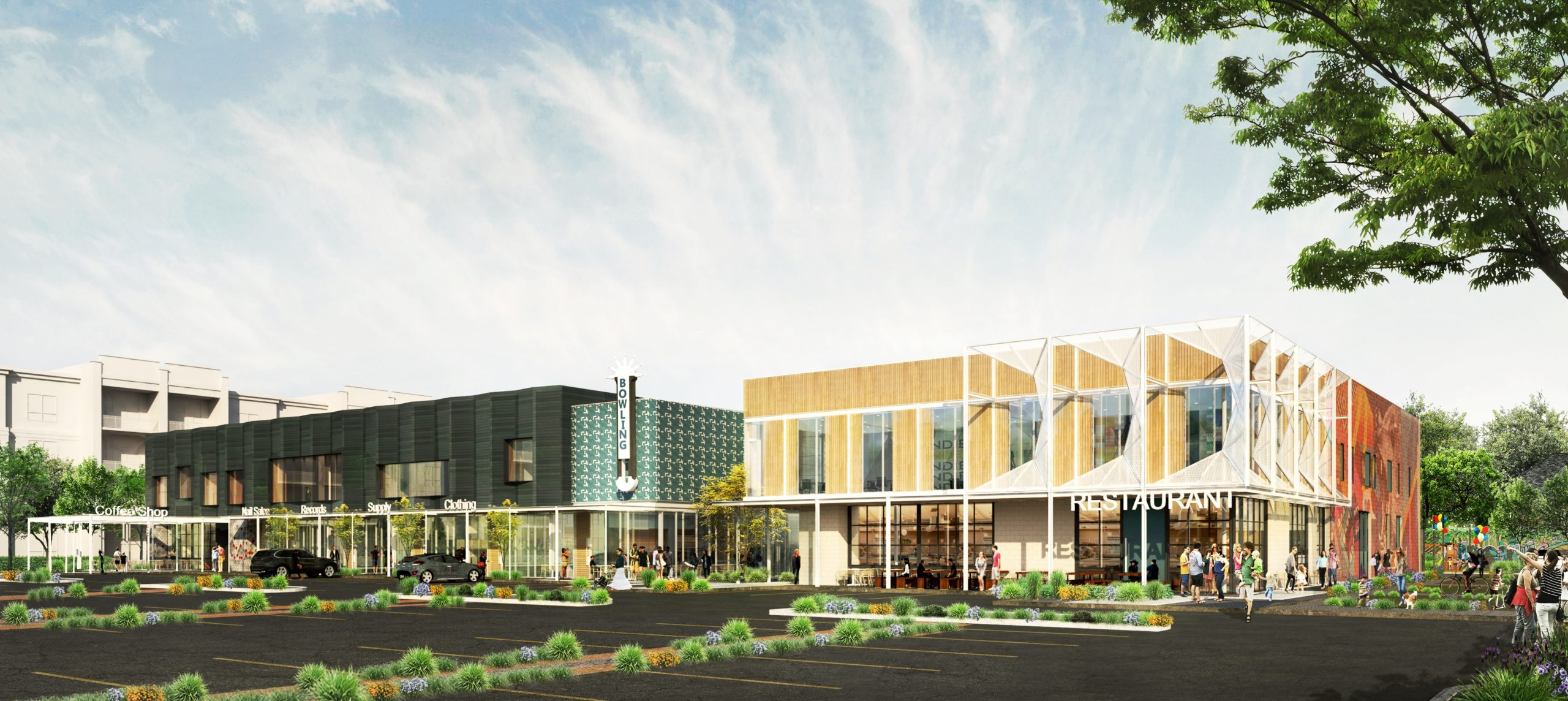 Southside Commons Rendering